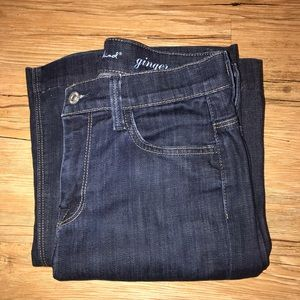 7 For All Mankind sz 27 dark wash flare jean
